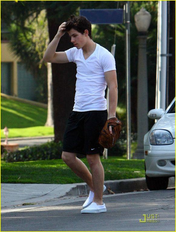 Album - Nick-Baseball-in-the-street--