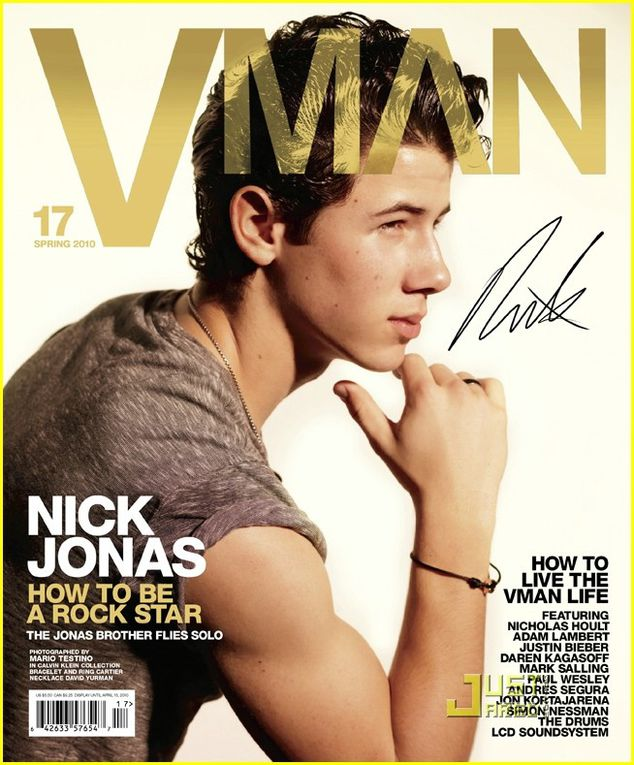 Vman Magazine ! Nick so beautiful on this photos :)