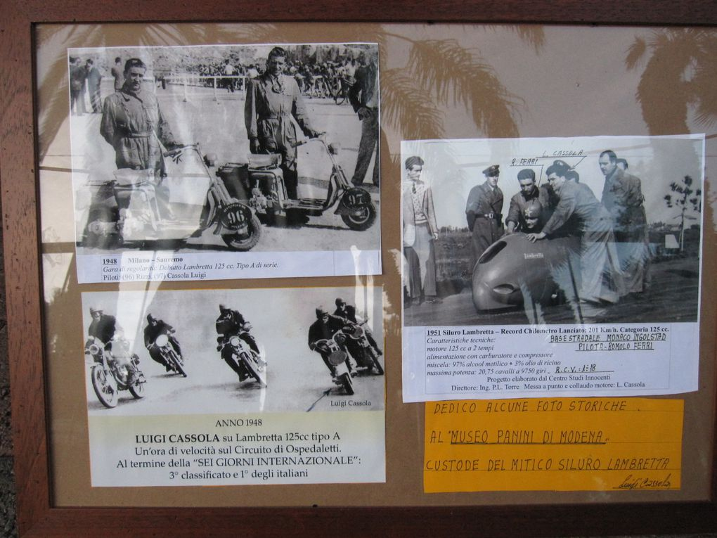 Photographies prises lors du trophé international motocycliste d'Ospedaletti.