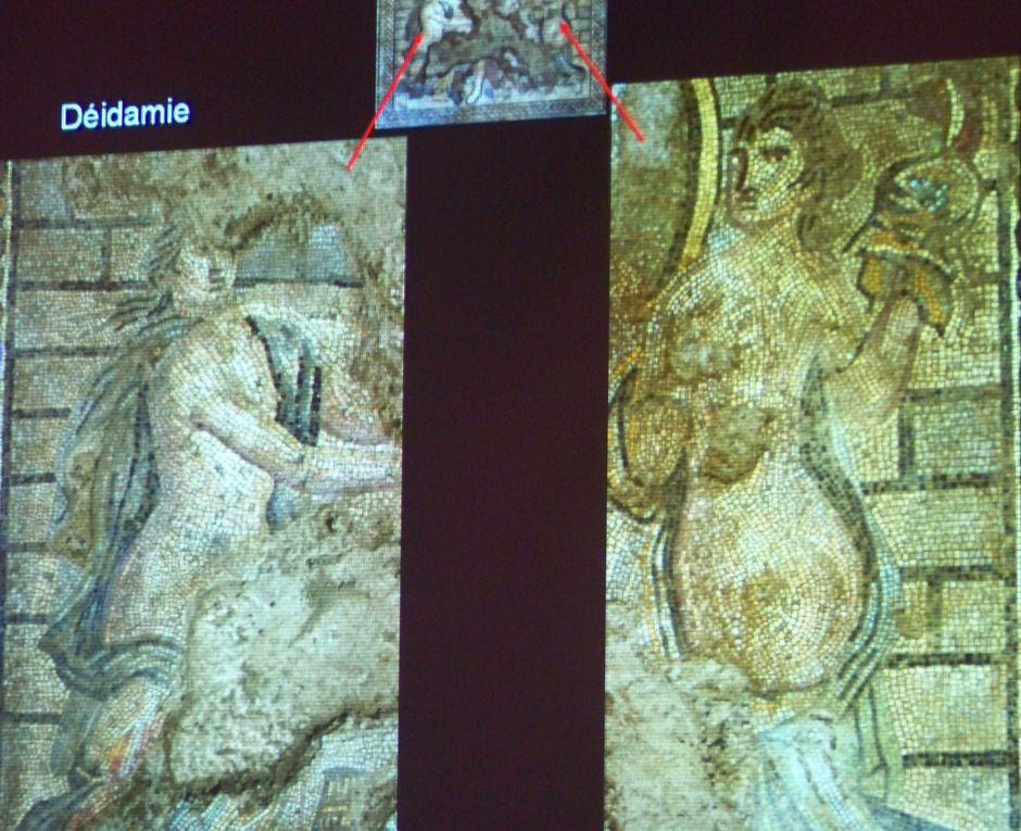 la conférence de Jean-Yves BREUIL, responsable des fouilles préventives sur le bd Jean-Jaurès