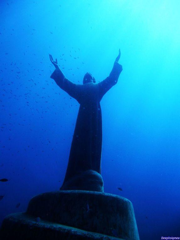 Rencontre avec le Christ des Abysses - San Fruttuoso - Italie