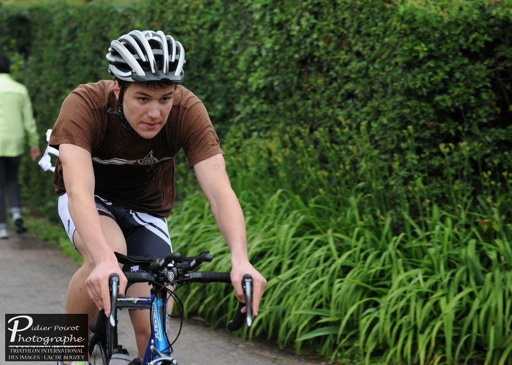 photos de nos triathlete en action