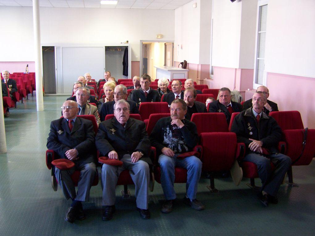 Visite de l'Amicale des Anciens Parachutistes du Chablais