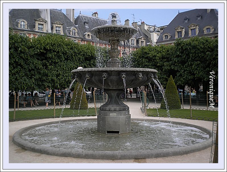 Place Mes ballades parisiennes