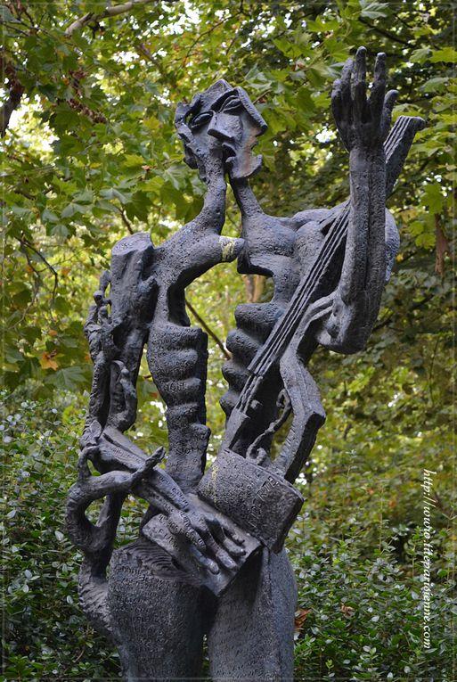 Statues du jardin du Luxembourg