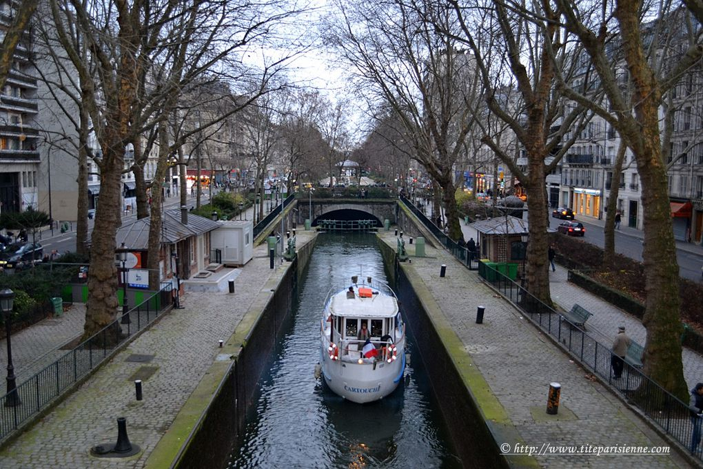 Le Canal Saint-Martin et Port de l'Arsenal