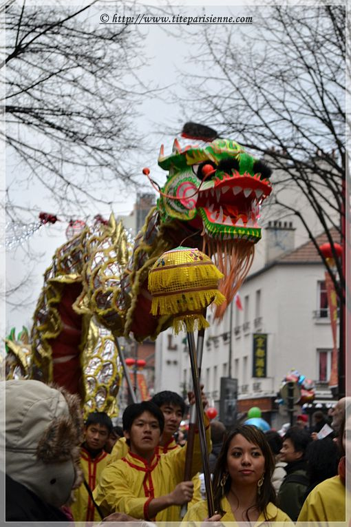 Nouvel An chinois, Avenue de Choisy, Paris 13e