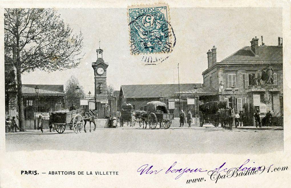 Parc de la Villette et les anciens abattoirs de la Villette