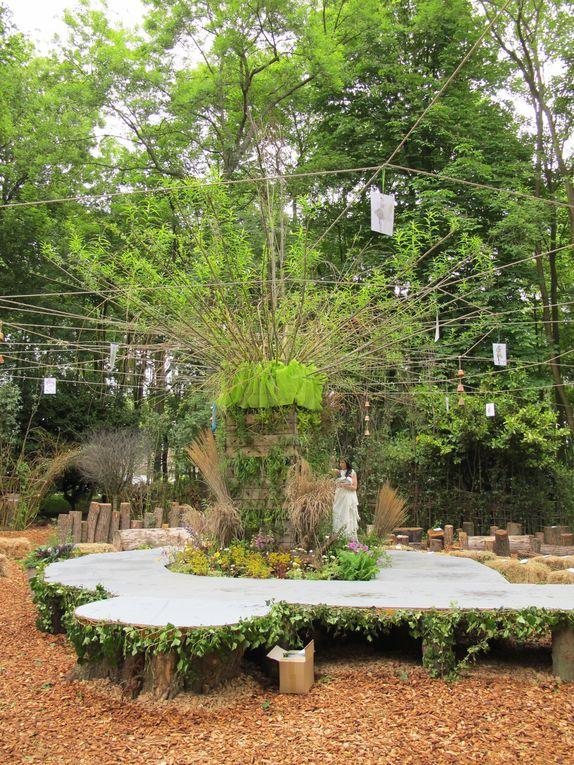 Quelques vues des lieux de la journée Cultures aux Jardins de Beauvais.