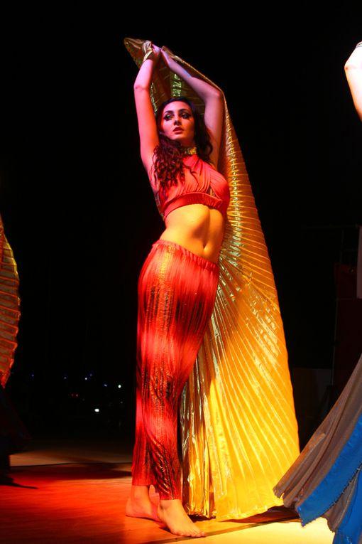 Demonstration de danse orientale lors du Gala de fin d'année 2012 de l'écolo de danse MICA DANSE à Sausset les Pins (13)