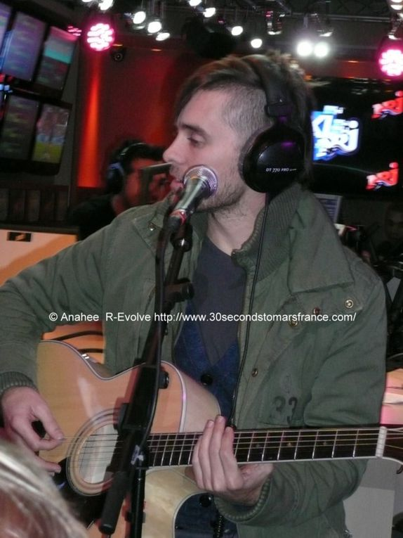 Album - NRJ Studio 3/03/2010 Session Accoustique