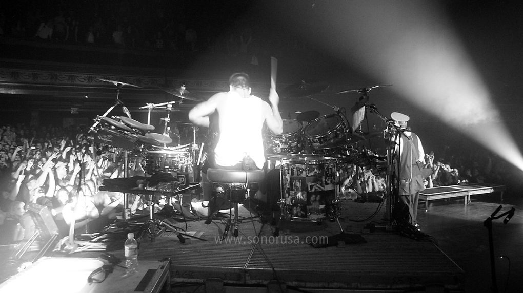 Album - On Stage With 30 STM Sonor USA 31 Janvier 2011
