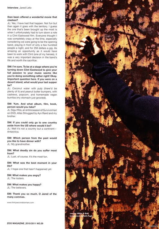 Album - Zoo Magazine Winter Issue-Decembre 2010