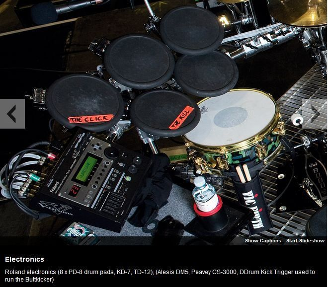 Album - Thirty-Seconds-To-Mars--drum-setup-in-pictures