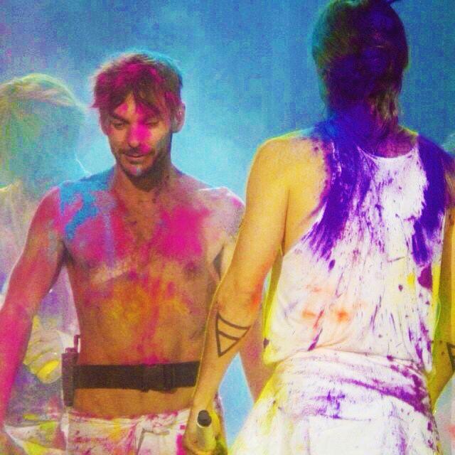 Album - 30-Seconds-To-Mars---18-Fevrier-2014---Paris----War-color