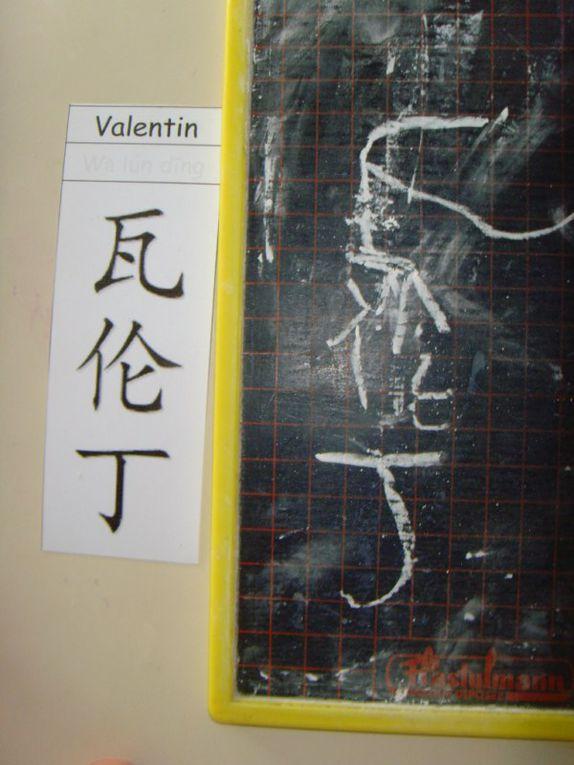 Album - calligraphie chinoise