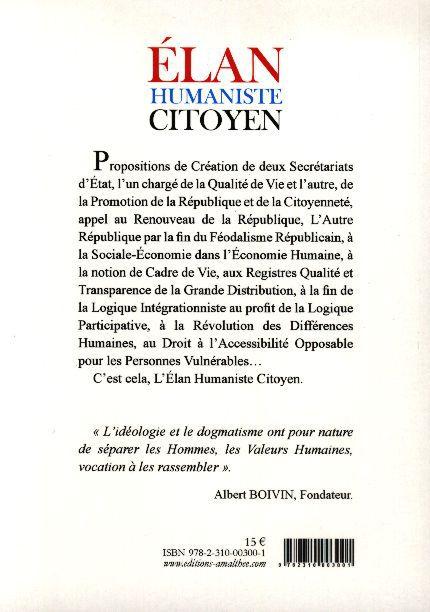 Album - Elan Humaniste Citoyen