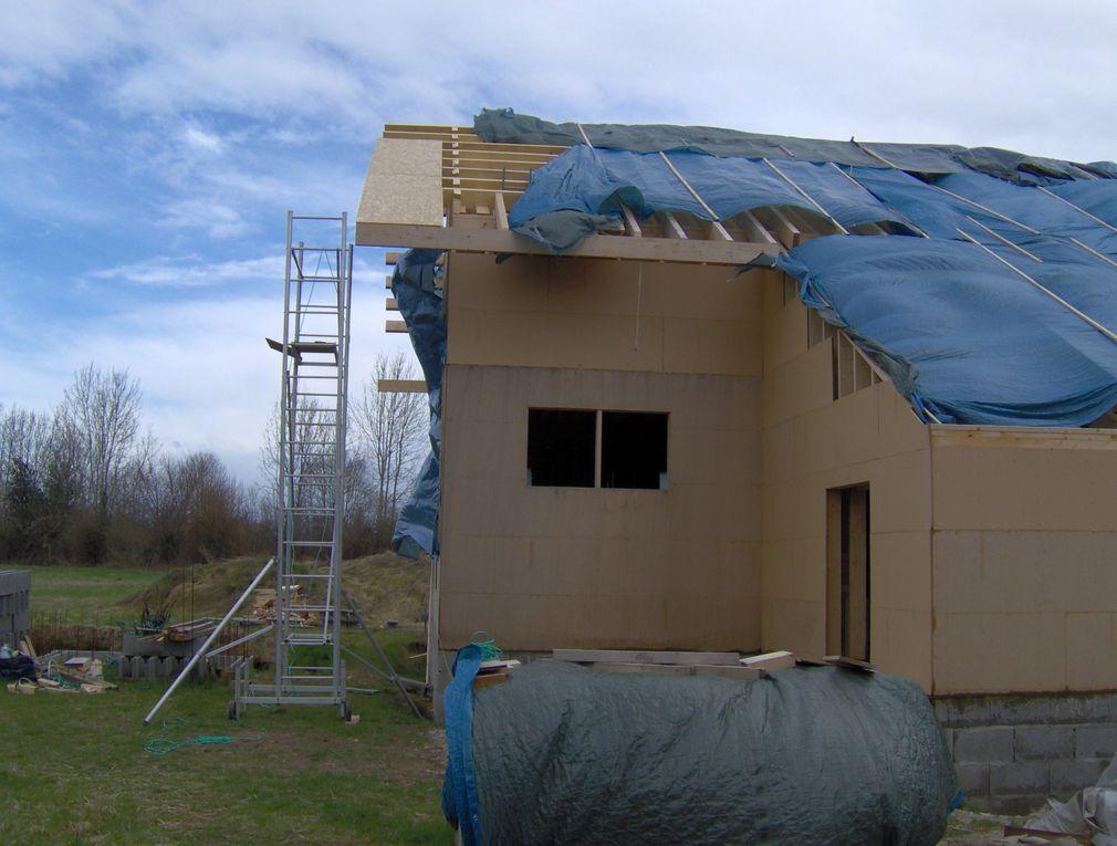 Habillage pignons et débords de toiture