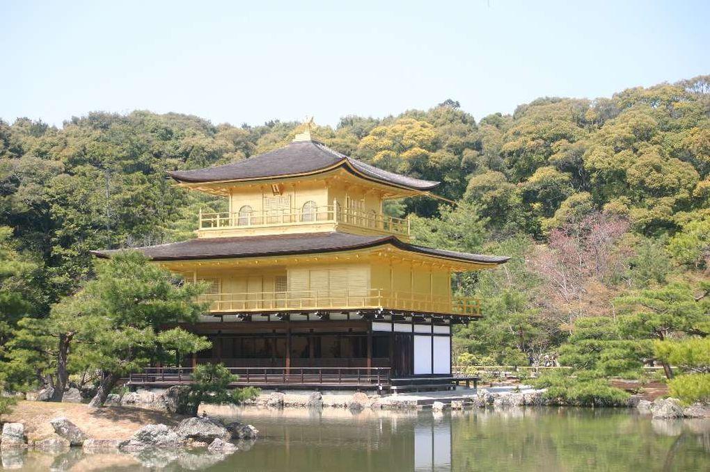 Suite du voyage, de Hiroshima à Kyoto