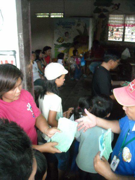mission médicale à Barangay Alegria à 15 minuttes de General Santos dans ue école