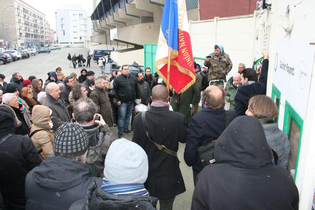 Résumé de la journée hommage qui s'est déroulé au stade BAUER !