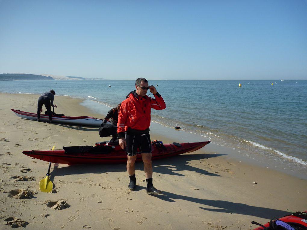 Ballade en kayak de mer au banc du Toulinguet