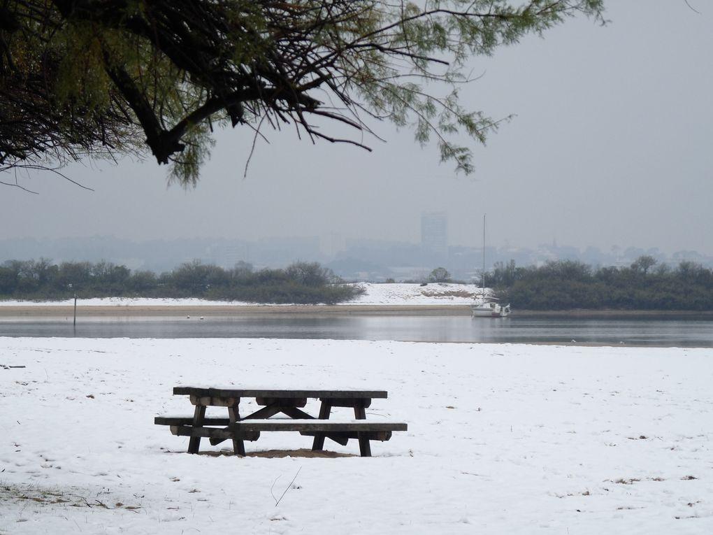Neige sur le Bassin d'ArcachonPhoto de JanyVendredi 3 décembre 2010