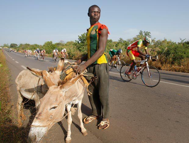 Images du  tour du Faso 2009