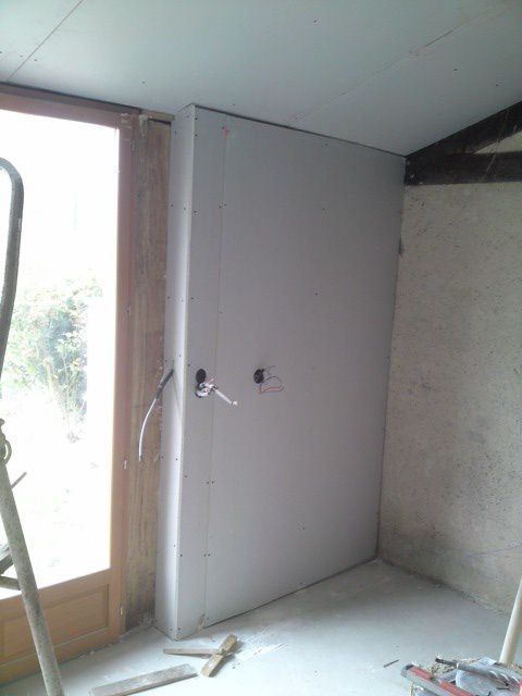 isolation,laine de roche,BA13,beton cellulaire,siporex,doublage