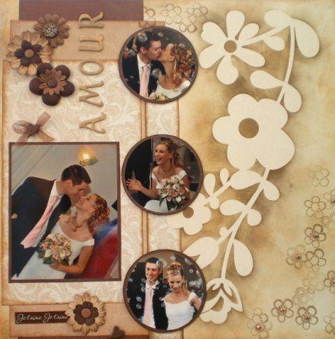 Album - ALBUM PAGES MARIAGE