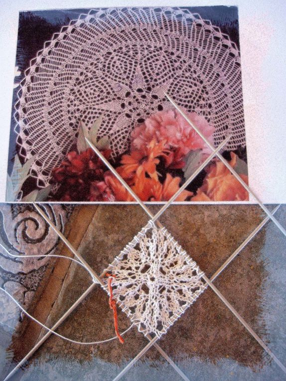 Tricot d'art