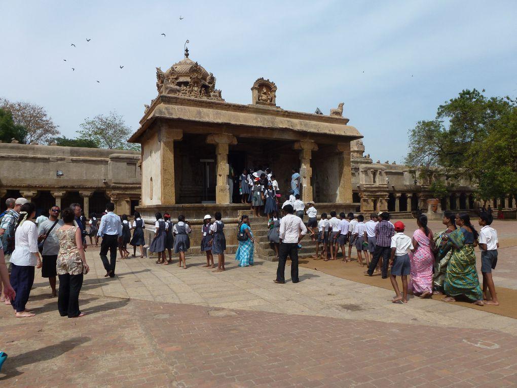 Les temples du Tamil Nadu