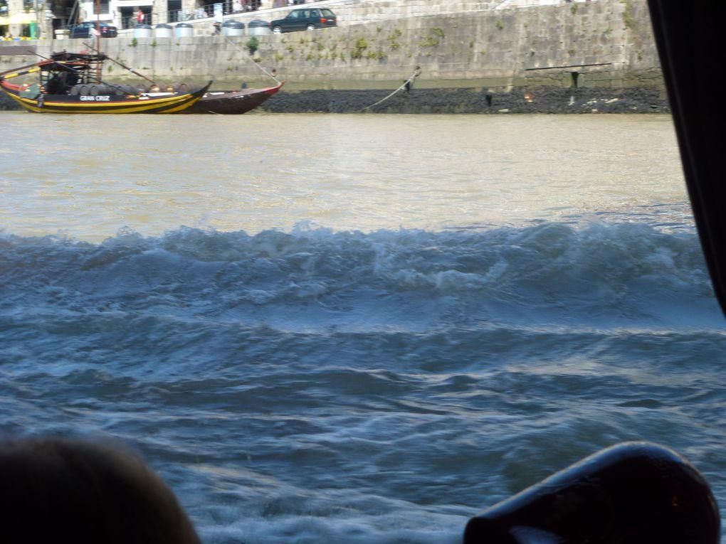Croisière à quai sur le DOUROavril 2013
