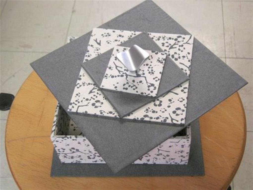 réalisation d'objets par la technique du cartonnage