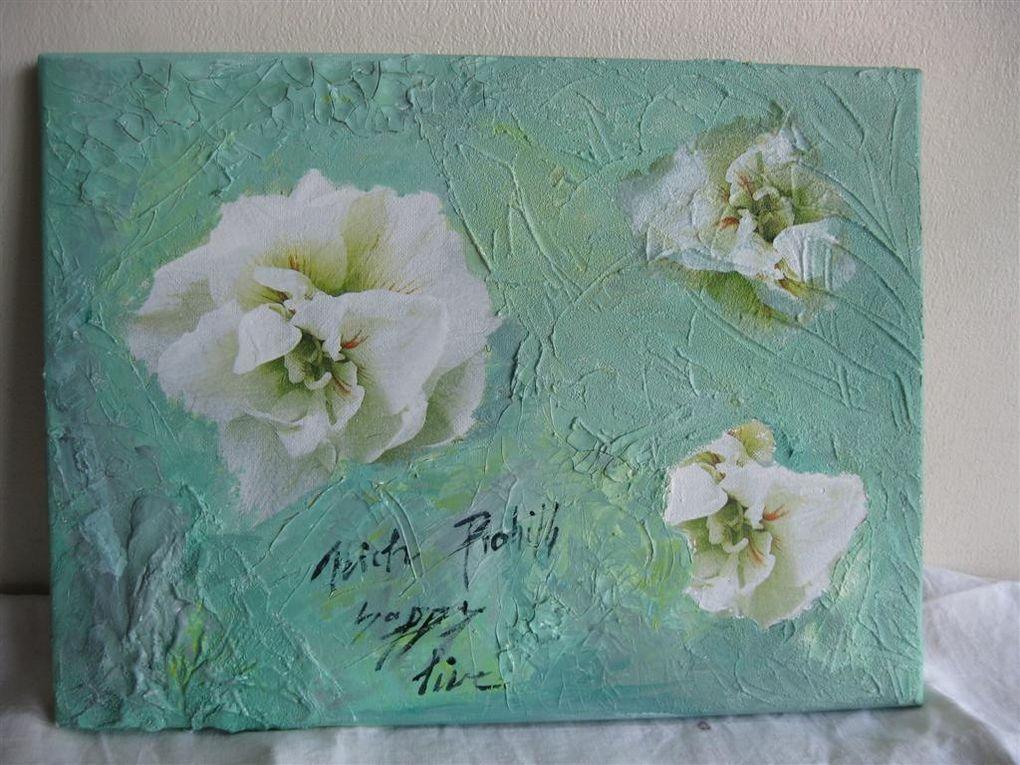Collage de serviettes