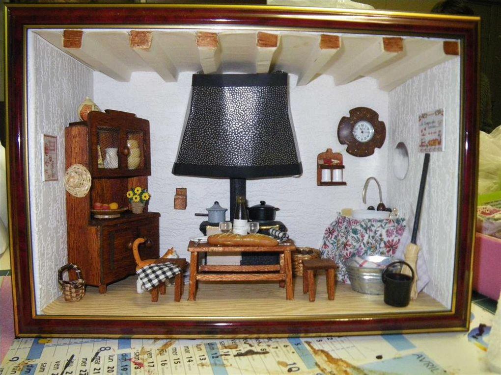 création de vitrines miniatures