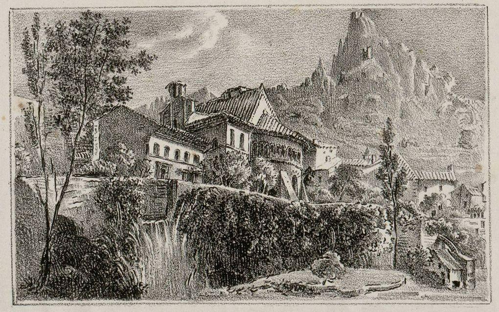 Gravures anciennes  (XIXe Siècle) de paysages