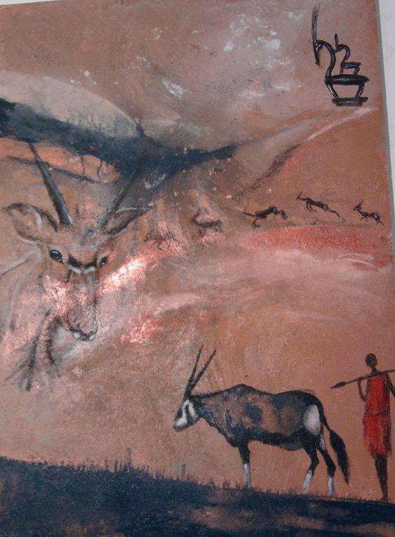peintures d'animaux
