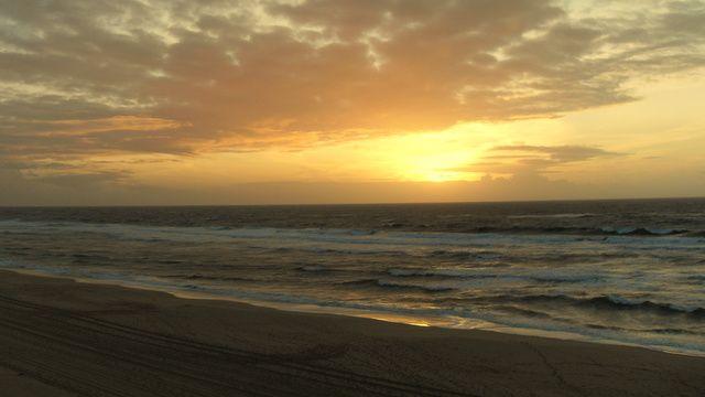 Photos de l'Océan et de la plage de Mimizan exposées dans le blog