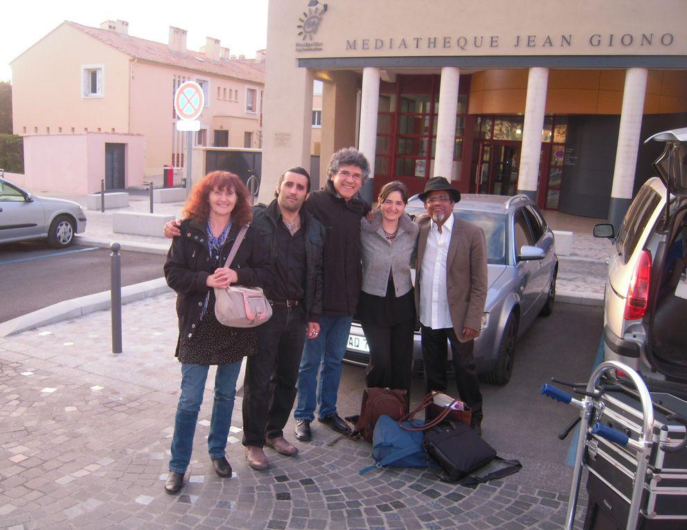 """La tournée 2013 de la lecture concert """"Polyphonies Neruda"""" de la maison de la poésie Montpellier Languedoc labellisée """"Sélection printemps des poètes"""""""