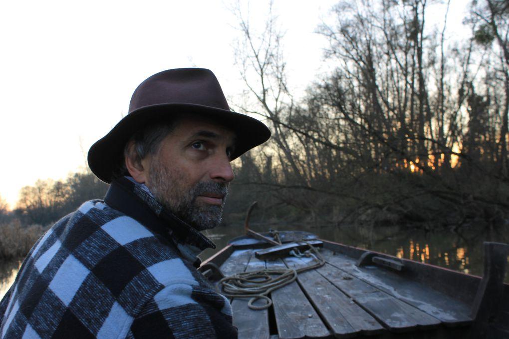 Sur les rivières d'Allier et Bieudre le 1er janvier 2015 Photos Fabienne Graffion