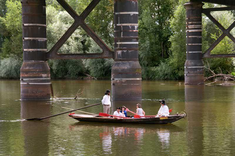 Franchissement du Pont Régemortes par les Chavans Août 2010