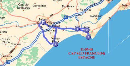 DU 7 AU 12-05-2008 CAP SUD FRANCE 34-ESPAGNE