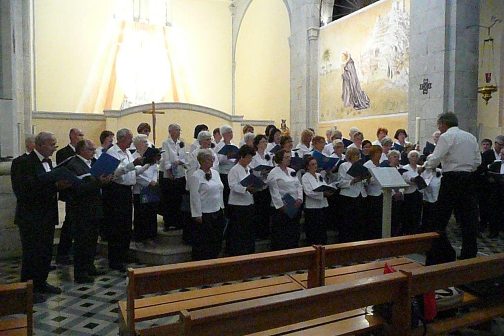 notre chorale en concert...