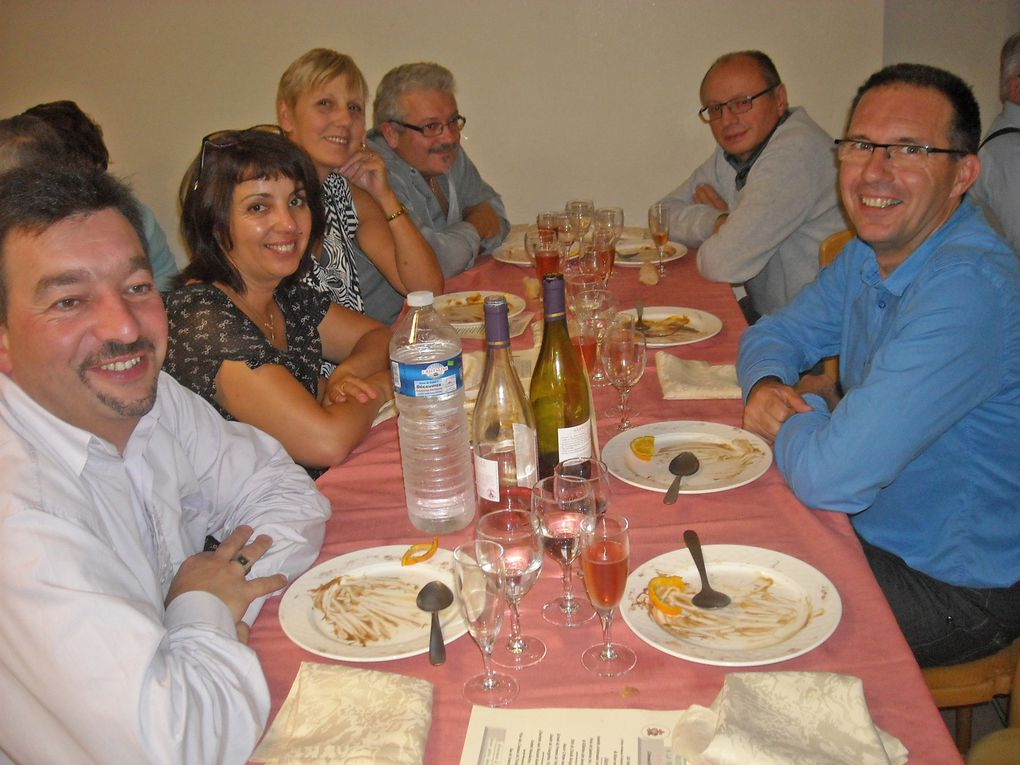 Repas des aînés d'Arreux organisé par le CCAS à la ferme de monthimont à Donchery