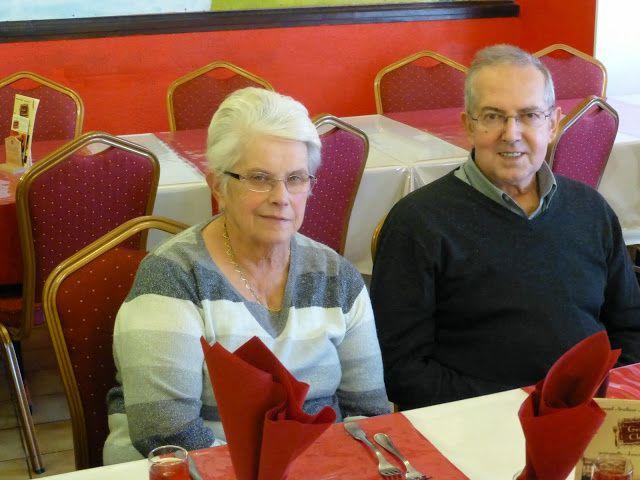 Repas des Aînés d'Arreux du Dimanche 23 novembre 2014 à Bogny sur Meuse à la Grande Chaumière organisée par la Mairie et le CCAS d'Arreux.