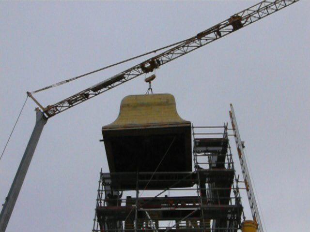 Travaux de réfection du toit et de la reconstruction du clocher. Travaux 2008/2009