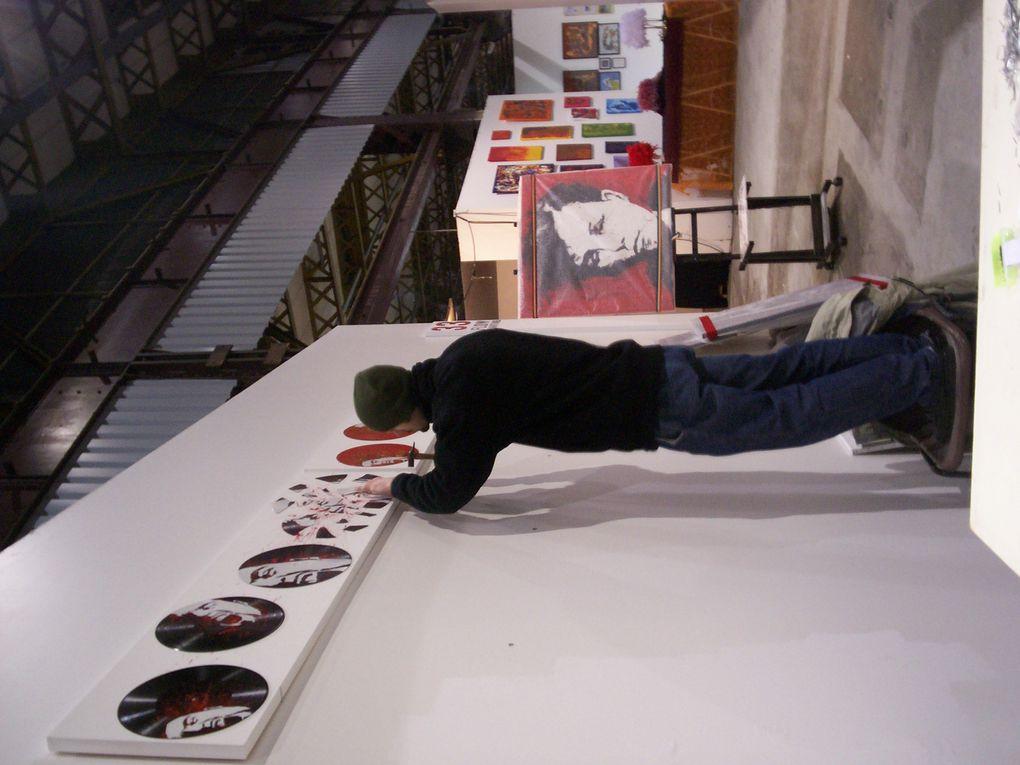 Edition 2007 du P'tit Baz'Art au site Alstom à Nancy
