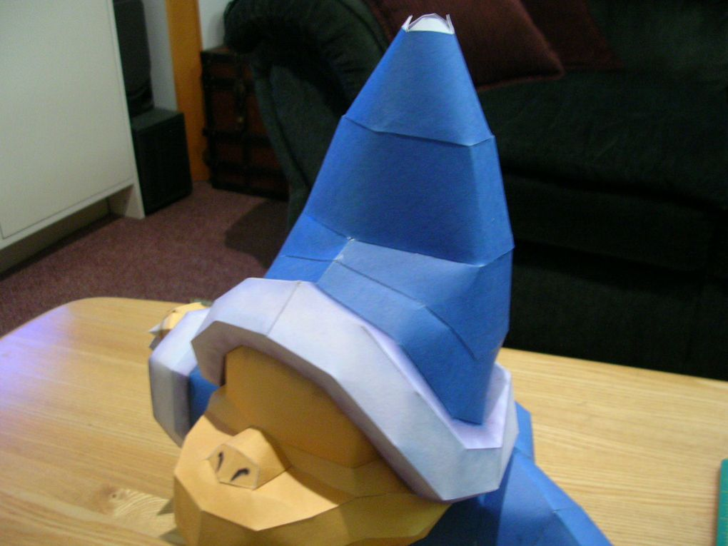 A visual report on the progressing of the magikoopa papercraft design.
