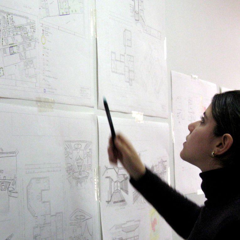 Photos mémoires d'activités des Ateliers d'Architecture de l'Ecole Nationale d'Architecture de Fès.